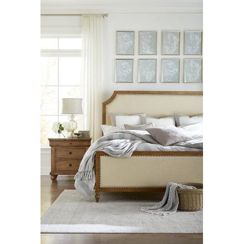 Standard Furniture - Brussels Queen Upholstered Bed, Brown
