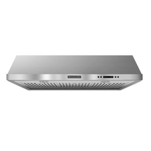 KitchenAid - Stainless Steel KitchenAid® 36'' Under-the-Cabinet 600 CFM Architect® Series II