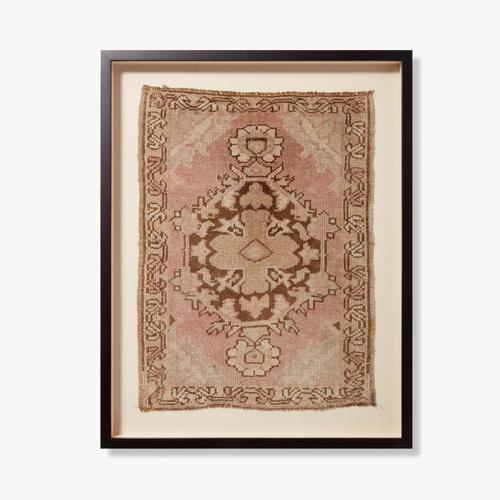0350820021 Vintage Turkish Rug Wall Art