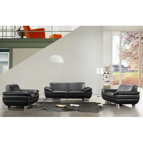 Divani Casa Lucca - Modern Italian Leather Sofa Set