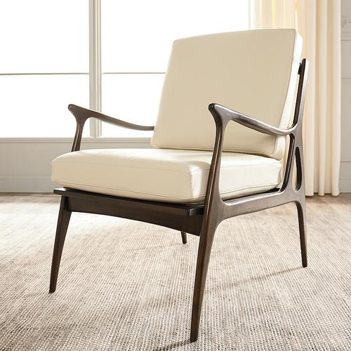 Serena Leather Accent Chair