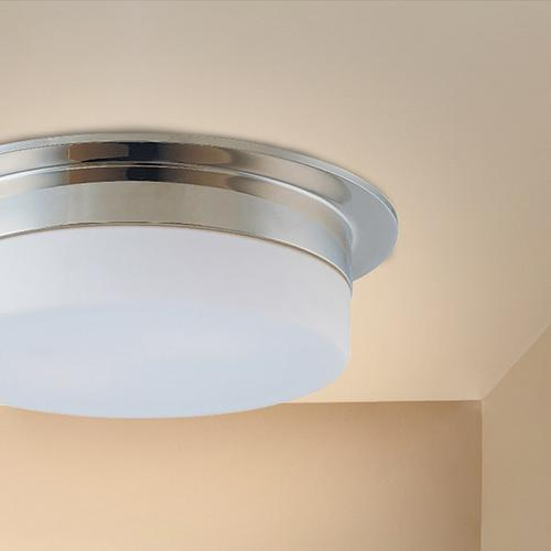 """Sonneman - A Way of Light - Flance Surface Mount [Size=12"""", Color/Finish=Satin Nickel]"""