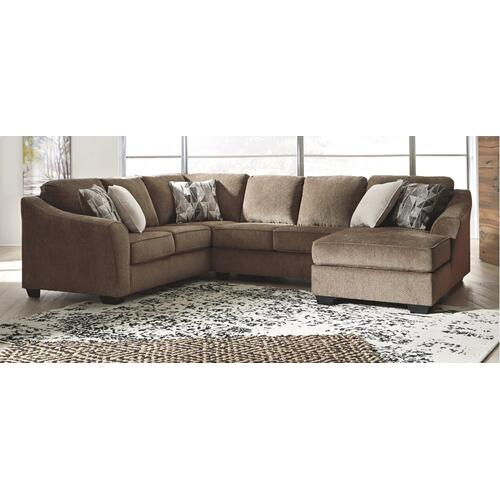 Benchcraft - Graftin 3-piece Sectional With Chaise