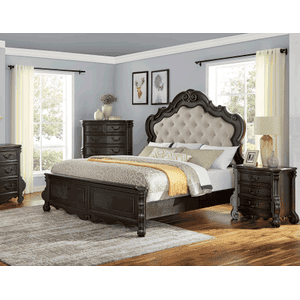 Rhapsody King Panel Bed