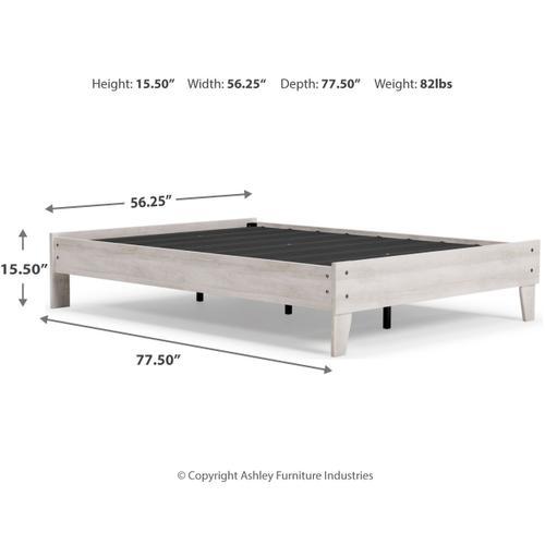 Signature Design By Ashley - Shawburn Full Platform Bed
