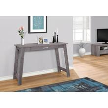 """See Details - COMPUTER DESK - 42""""L / GREY WITH A STORAGE DRAWER"""