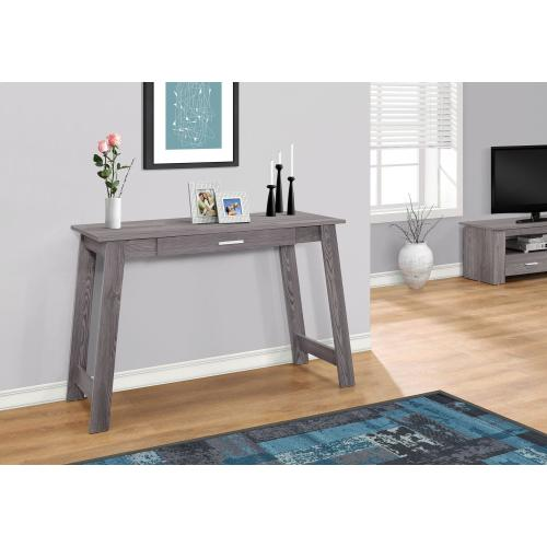 "COMPUTER DESK - 42""L / GREY WITH A STORAGE DRAWER"