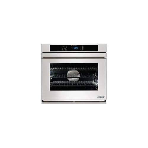 """Dacor RNWO130FS    Renaissance 30"""" Single Wall Oven in Stainless Steel with Flush handle"""