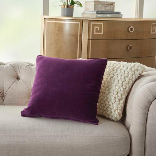 "Life Styles Ss900 Purple 16"" X 16"" Throw Pillow"