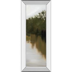 """River Journey"" By Megan Lightell Mirror Framed Print Wall Art"
