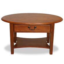 Shaker Oval Coffee Table #9044-MED
