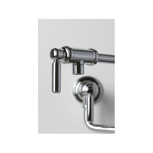 Kallista - Wall-Mount Pot Filler - Nickel Silver