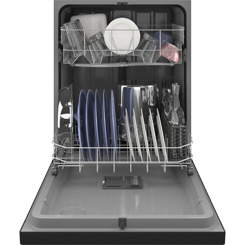 GE® Dishwasher with Front Controls with Power Cord