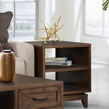 Vogue - Side Table - Plymouth Brown Oak Finish