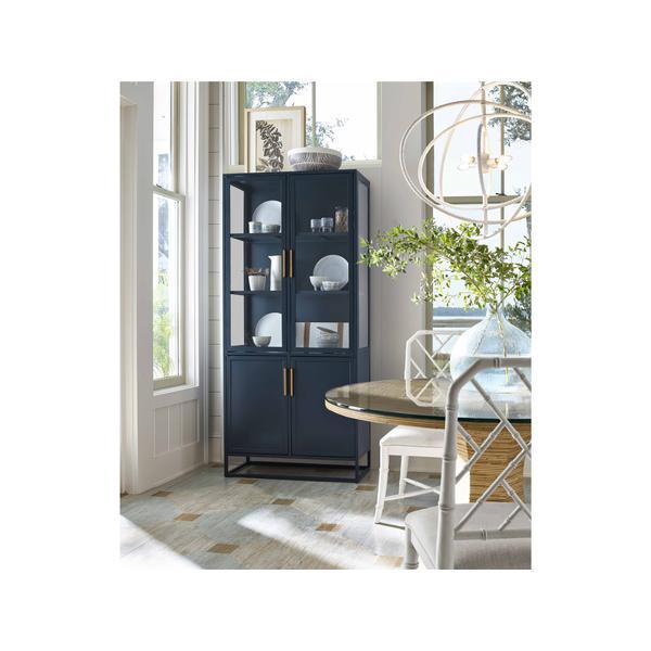 See Details - Santorini Tall Metal Kitchen Cabinet
