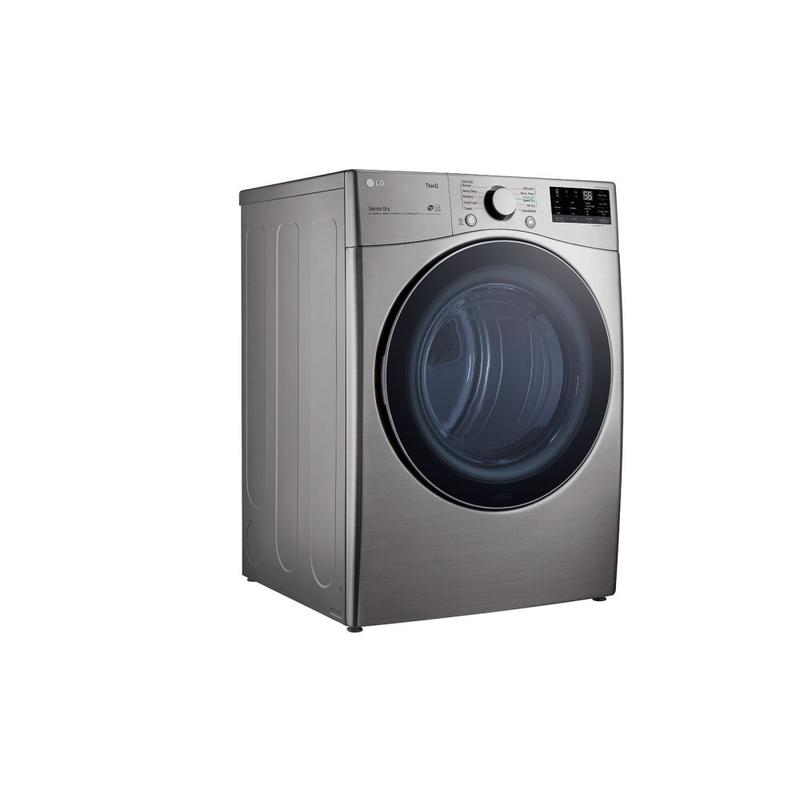 7.4 cu. ft. Ultra Large Capacity Smart wi-fi Enabled Front Load Electric Dryer with Built-In Intelligence