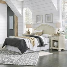 Provence Queen Headboard and Two Nightstands