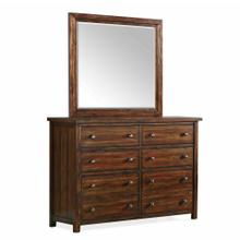 Dawson Creek Dresser & Mirror Set