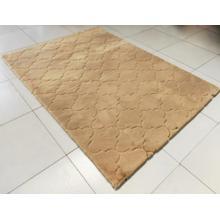 Soft Hand Carved Geometric Design Valentine Lantern Area Rug by Rug Factory Plus - 5' x 7' / Beige