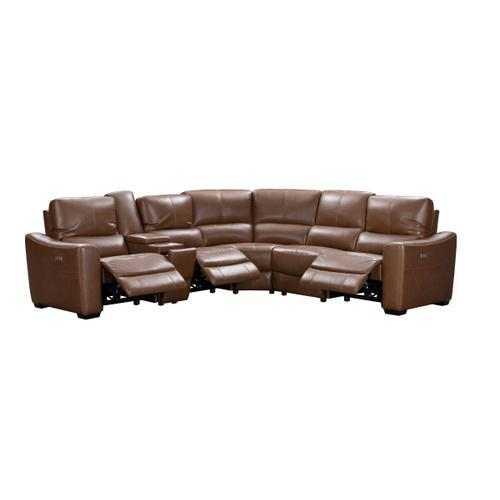 Stanford Sectional Chestnut