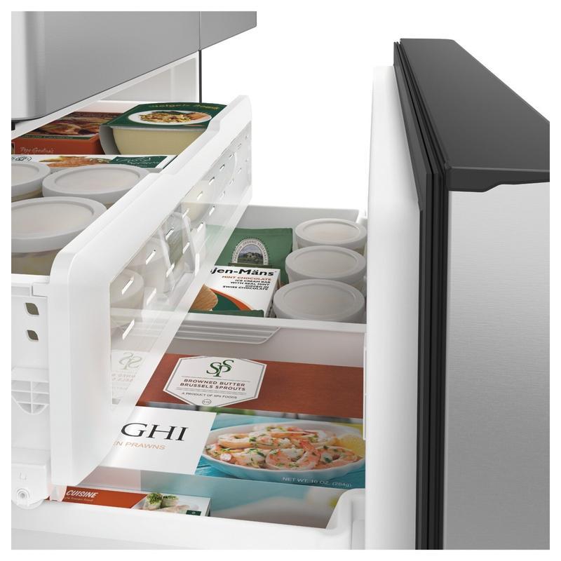 Café™ ENERGY STAR® 27.8 Cu. Ft. Smart French-Door Refrigerator with Hot Water Dispenser
