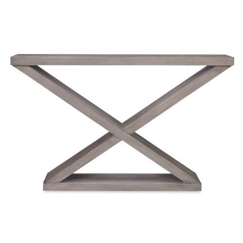 Salone Double-V Console - Ash Grey