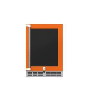 "Hestan24"" Hestan Undercounter Refrigerator (Glass Door) - GRGR Series - Citra"