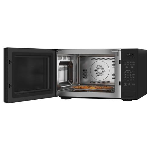 Café 1.5 Cu. Ft. Smart Countertop Convection/Microwave Oven in Platinum Glass