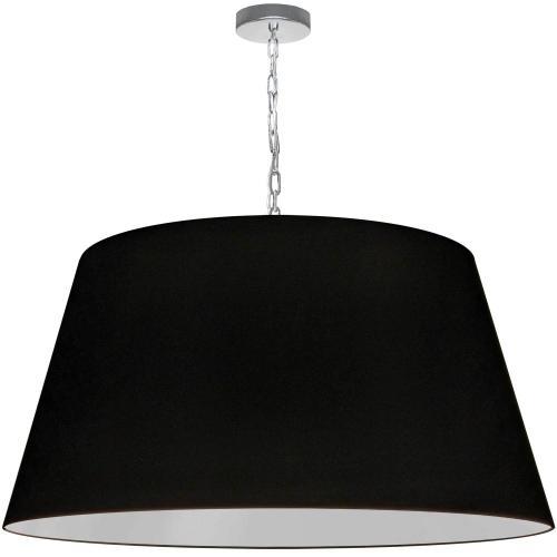 1lt Brynn X-large Pendant, Black Shade, PC