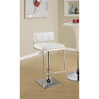 Talia Adjustable Bar Stool White