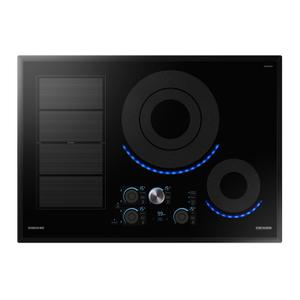 "Samsung Appliances30"" Chef Collection Induction Cooktop in Black"