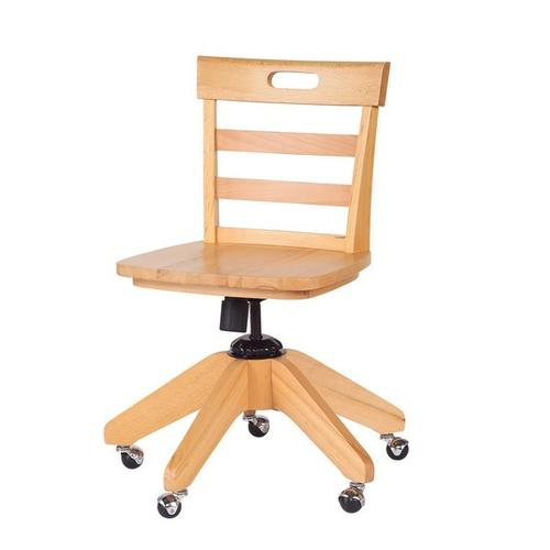 See Details - School Chair : Natural :