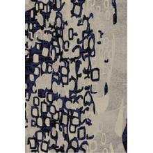 See Details - Lifestyle 803 Area Rug by Rug Factory Plus - 2' x 3' / Navy