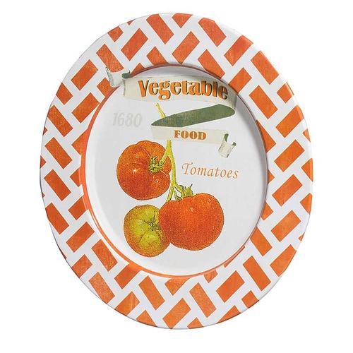S/4 Abington Tomato Plates