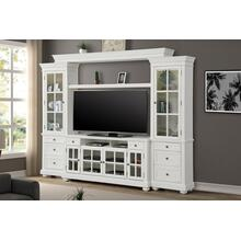"CAPE COD 4 piece 63"" Entertainment Wall"