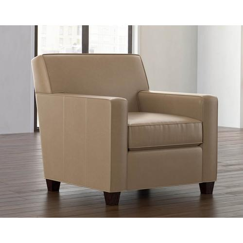 Bassett Furniture - Landis Leather Accent Chair