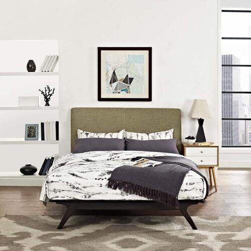 Tracy Queen Bed in Cappuccino Latte