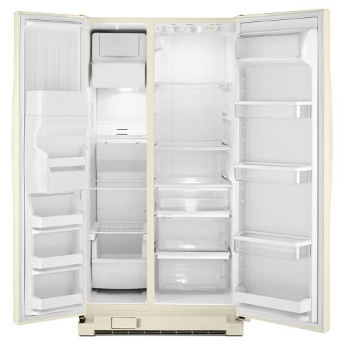 Gallery - 36-inch Wide Large Side-by-Side Refrigerator with Greater Capacity and Temperature Control - 25 cu. ft.