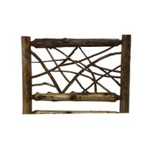 Twig Headboard - Single - Vintage Cedar