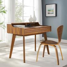 See Details - Render Writing Desk in Walnut