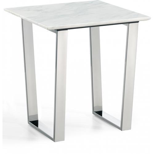 """Carlton Chrome End Table - 20"""" W x 20"""" D x 22"""" H"""