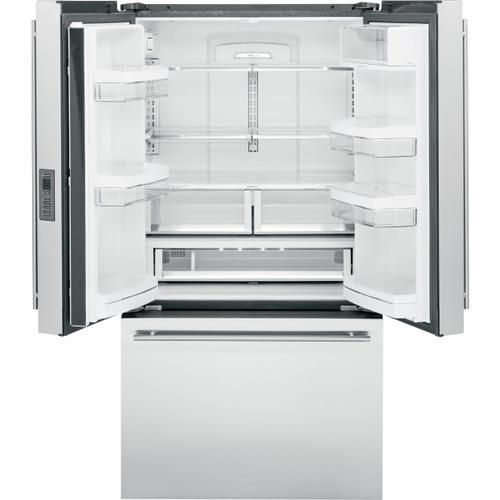 Monogram - Monogram ENERGY STAR® 23.1 Cu. Ft. Counter-Depth French-Door Refrigerator