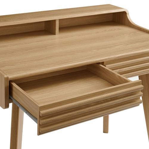 Gallery - Render Writing Desk in Oak