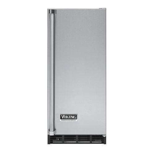 """Viking - Stainless Steel 15"""" Undercounter/Freestanding Tall Door Ice Machine - VUIM (Right Hinge Door)"""