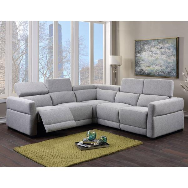 Isla 3-Piece Dual-Power Reclining Sectional