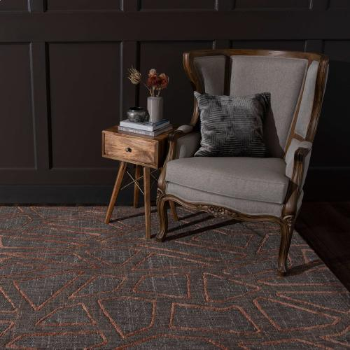 "Soiree Gibson Smokey Grey 5' 3""x7' 10"""