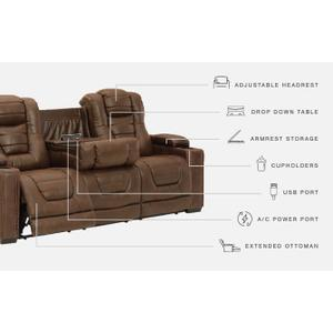 Signature Design By Ashley - Owner's Box Power Reclining Sofa