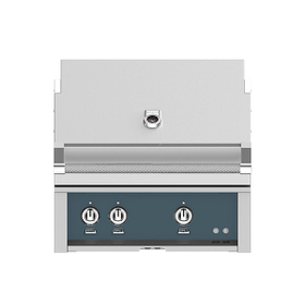 """30"""" Hestan Outdoor Built-In Grill - G_BR Series - Pacific-fog"""