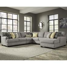 Cresson 5-piece Sectional With Chaise