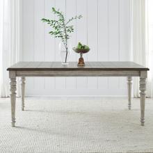 See Details - Rectangular Leg Table